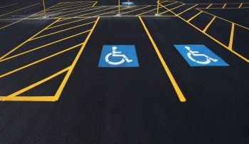 Handicapped Markings Parking Stall